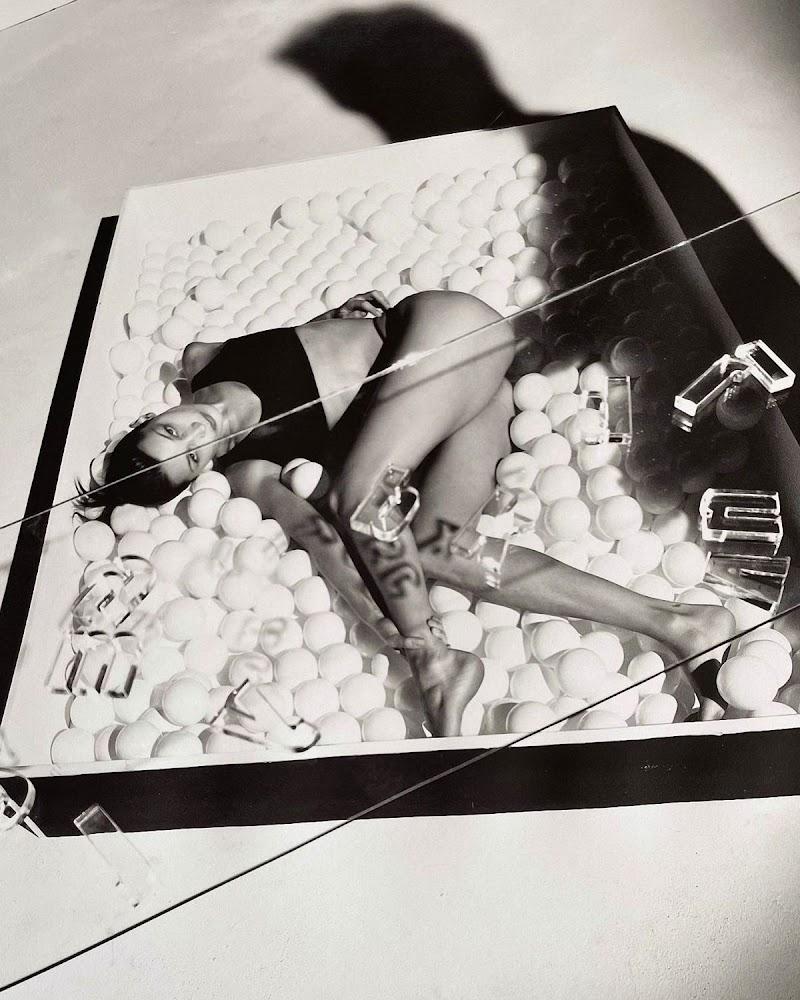 Bella Hadid Clicked for Calvin Klein - December 2020
