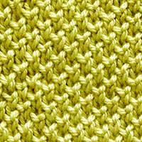 Bee Brioche is one of our very favorite stitches. Looks like Pearl Brioche Stitch.