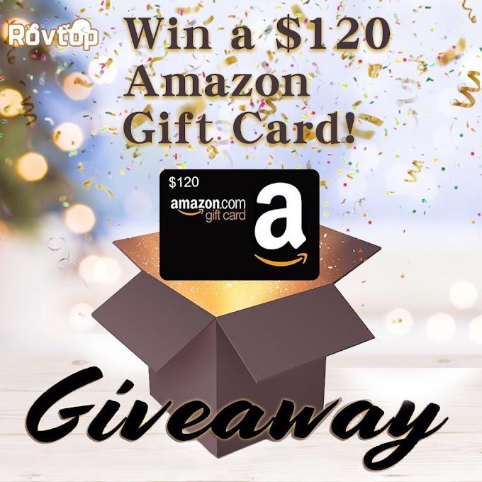 Sorteio Gift Card de $120 da Amazon!!