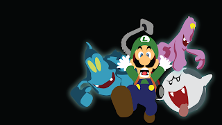 Luigi's Mansion Desktop Wallpaper