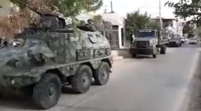 """Video: Con """"Tanquetas"""" y cientos de militares arman fuerte operativo en Culiacán"""
