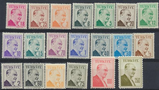 Turkey 1957 Ataturk
