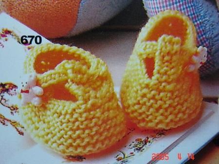 Sapatinho de Crochê Para Bebê Com Gráfico