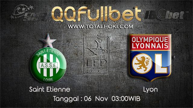 PREDIKSIBOLA - PREDIKSI TARUHAN BOLA SAINT ETIENNE VS LYON 6 NOVEMBER 2017 (Ligue 1)
