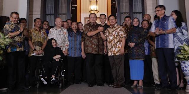 Ketemu SBY, 'Penerawangan' Natalius Pigai: Prabowo Menang, Jatim-Jateng 'Dicuri' Prabowo, Jokowi Menderita