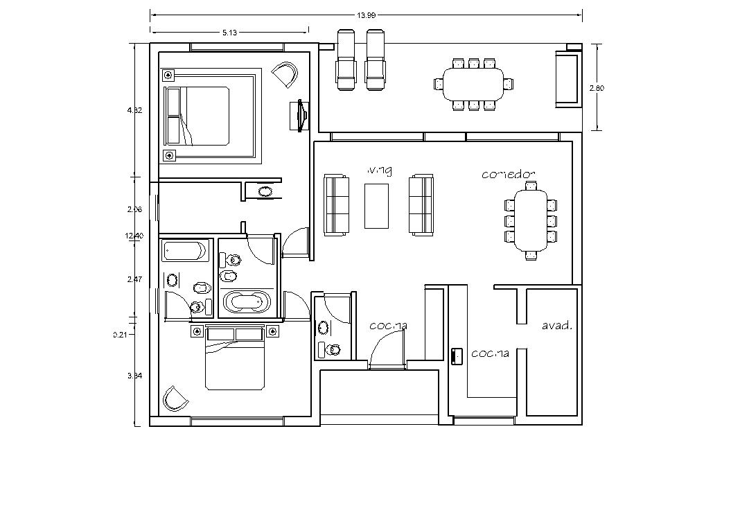 Arquitectura y dise o planos for Casa minimalista planos
