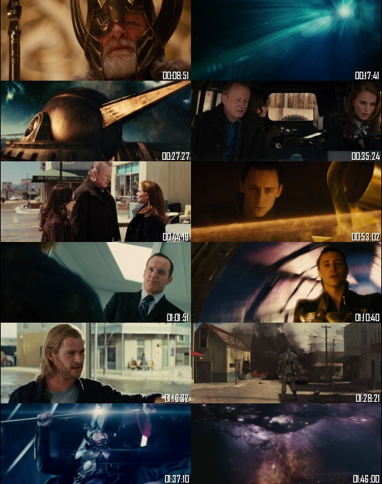 Thor 2011 BRRip 720p 480p Dual Audio Hindi English Full Movie Download