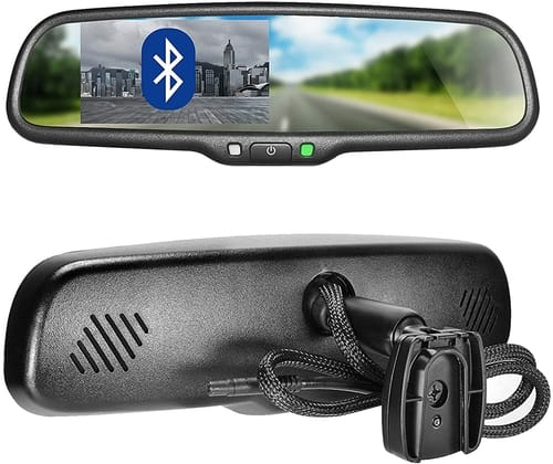 Master Tailgaters OEM Bluetooth Rear View Mirror