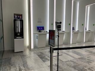 YOTEL Singapore hotel lobby