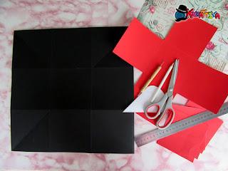 come piegare e tagliare scatola