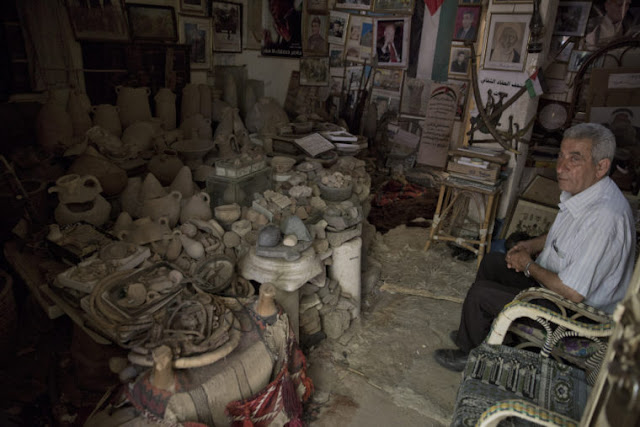 Gazans struggle to protect antiquities from neglect, looting