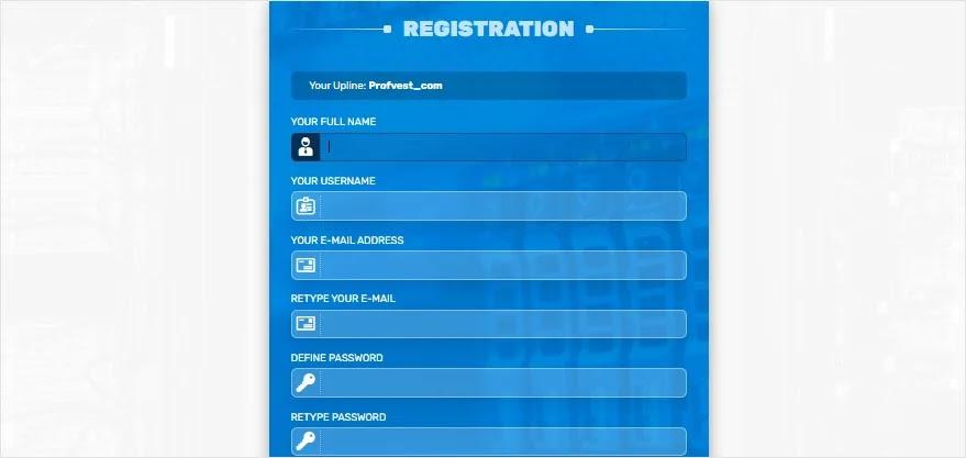 Регистрация в Bit Hunter 2