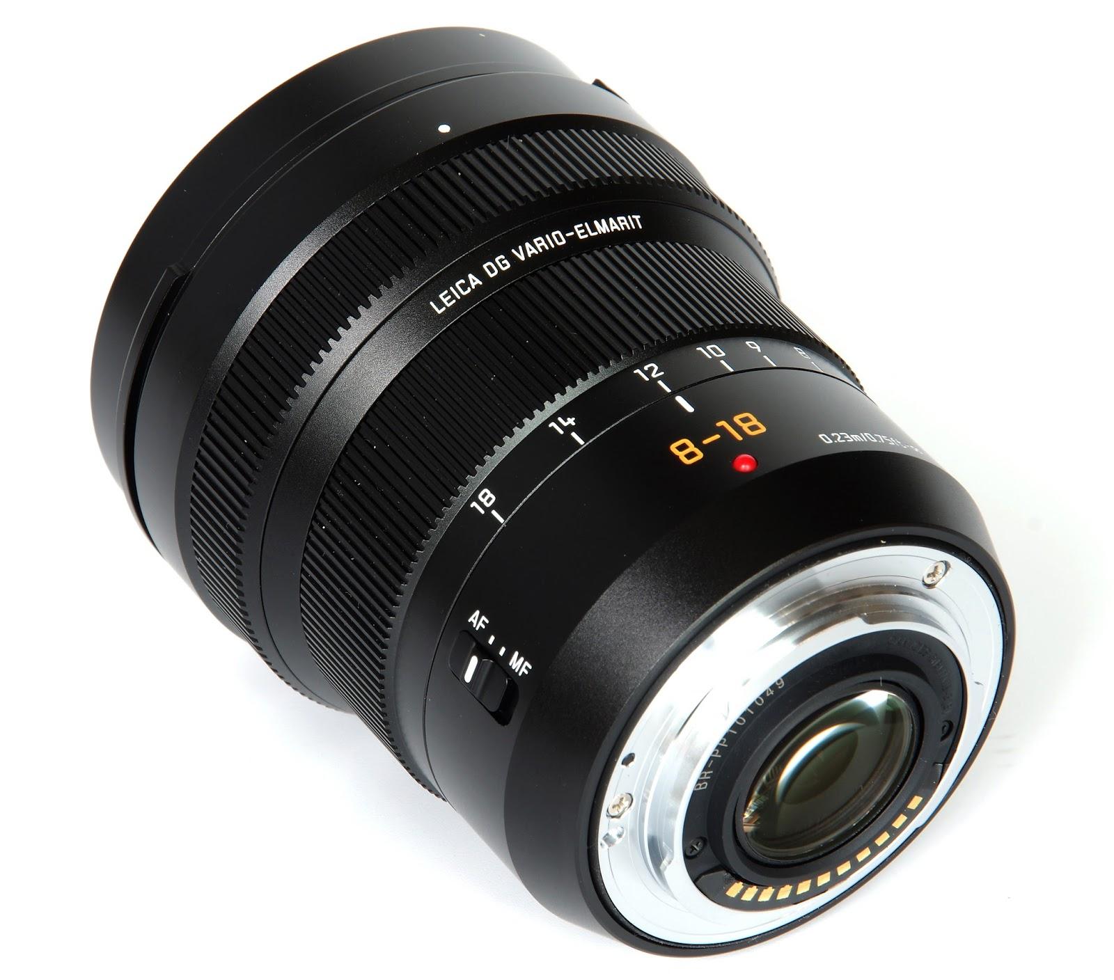 Panasonic Leica DG Vario-Elmarit 8-18mm f/2.8-4 Asph. вид сзади