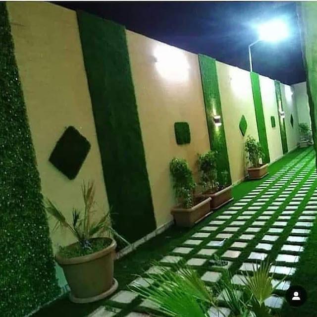 شركة تركيب العشب الجداري في الطائف