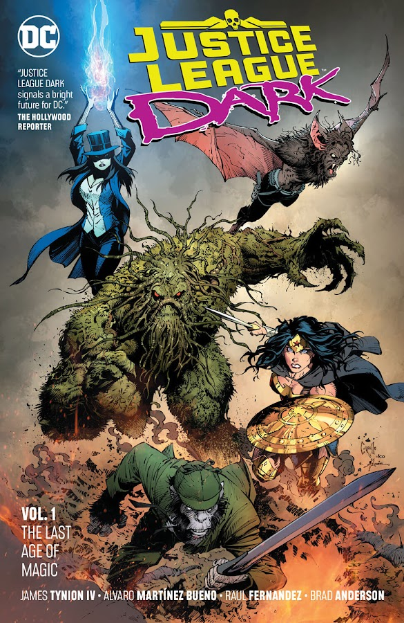 justice league dark last age of magic dc comics rebirth zatanna wonder woman greg capullo