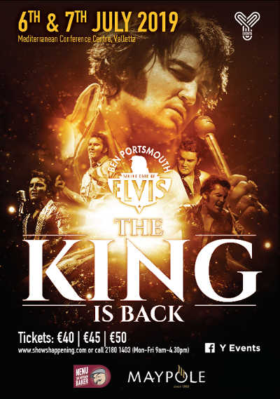 The King is Back – The Elvis show