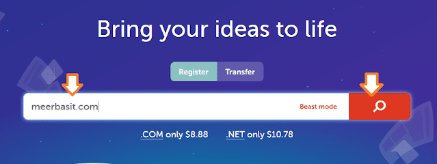 How to buy namecheap domain