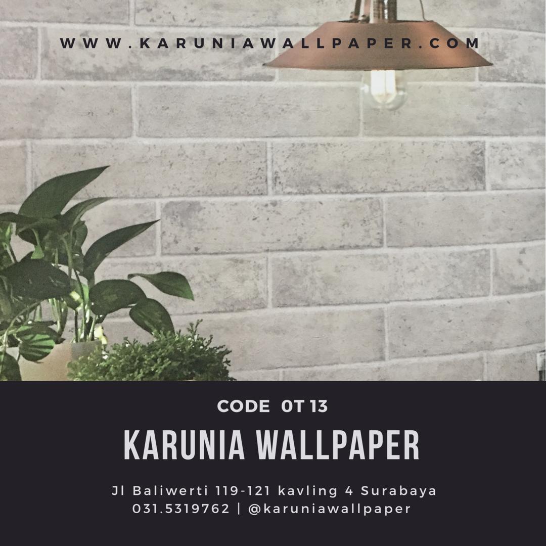 toko jual wallpaper 3 dimensi batu bata