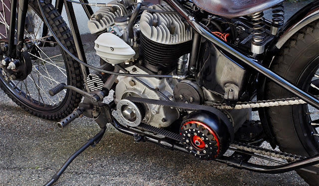 Harley Davidson Flathead 1940 By Ehinger Kraftrad Hell Kustom