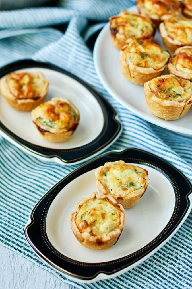 Mini Quiche Appetizers