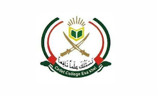 www.ccek.edu.pk - Cadet College Esa Khel Mianwali Jobs 2021 in Pakistan