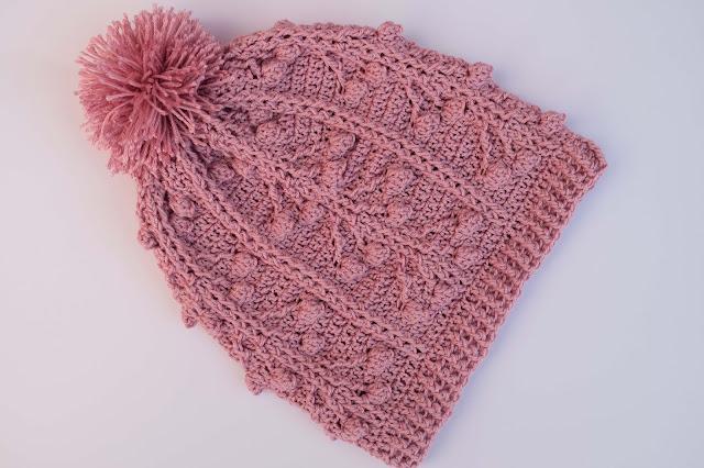 5-Crochet Imagen Gorro a conjunto con jarsey a crochet y ganchillo por Majovel Crochet