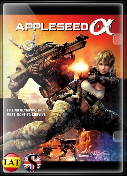 Appleseed Alpha (2014) HD 1080P LATINO/INGLES