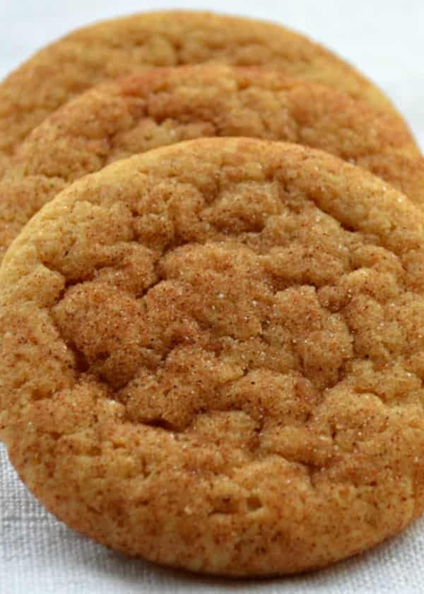Brown Butter Snickerdoodles is for sure a favorite Snickerdoodle Recipe and must have Christmas Cookie. The brown butter really kicks these iconic cookies up a notch from Serena Bakes Simply From Scratch.