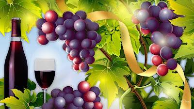 gambar anggur merah