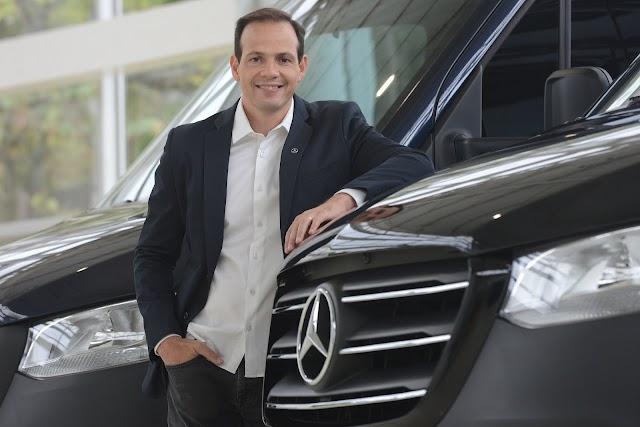 Mercedes Benz anuncia nuevo CEO para Cars & Vans Brasil