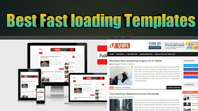 fast loading best blogger new template 2019,professional blogger templates free