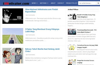 artikel motivasi terbaik indonesia