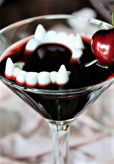 Dracula's Blood Halloween Cocktail Image