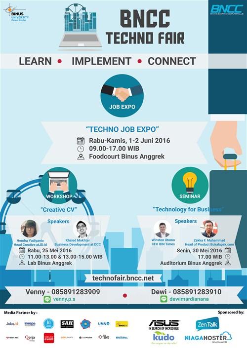 Jobfair Khusus IT di Kampus Binus Jakarta bulan Juni 2016