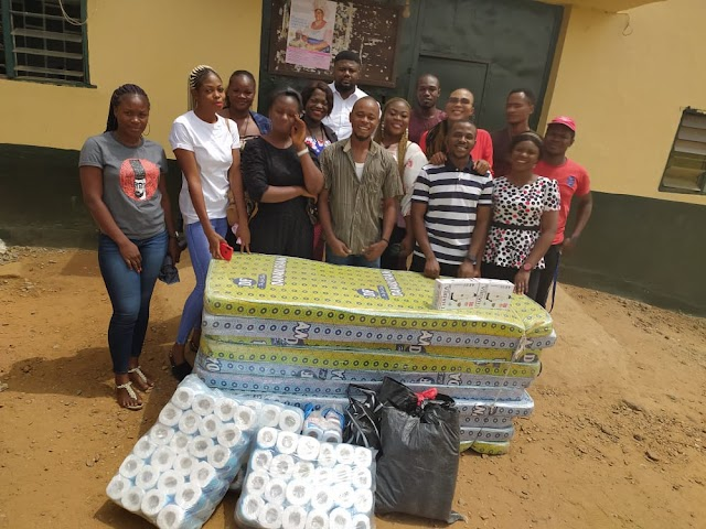 Onitsha Social Media Foundation showers love on inmates of Onitsha Correction Centre urges youths to shun crime