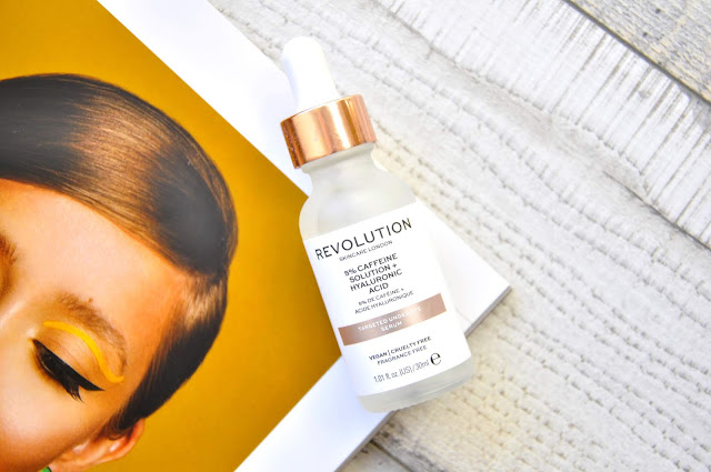serum pod oczy revolution skincare 5% caffeine solution + hyaluronic acid