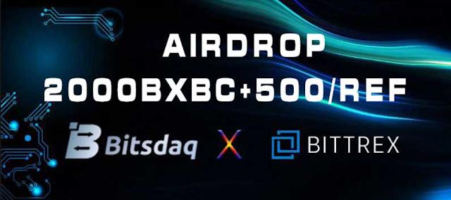 Bitsdaq là gì? Hướng dẫn đăng kí tài khoản và nhận airdrop từ sàn Bitsdaq