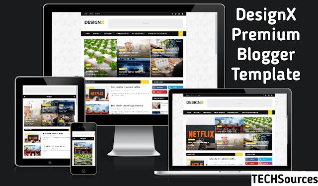 DesignX Blogger Template