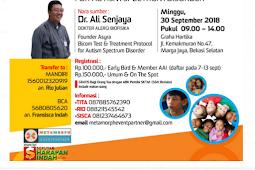 Seminar AUTIS Awareness di Bekasi