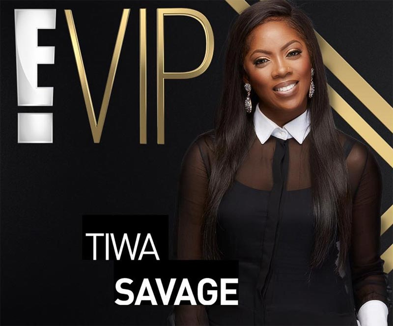 Tiwa Savage excited as her reality show features on E!