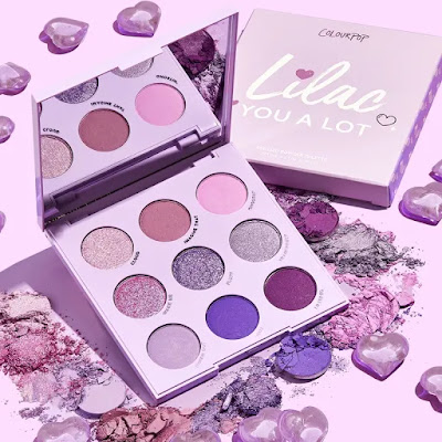 Colourpop violet palette