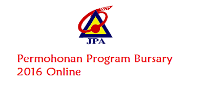 Permohonan biasiswa Program Bursary 2016 Online