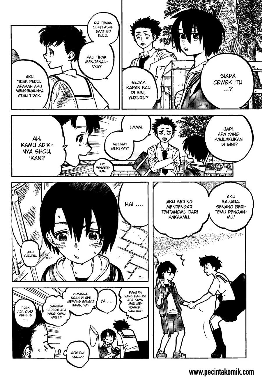 Koe no Katachi Chapter 18-3