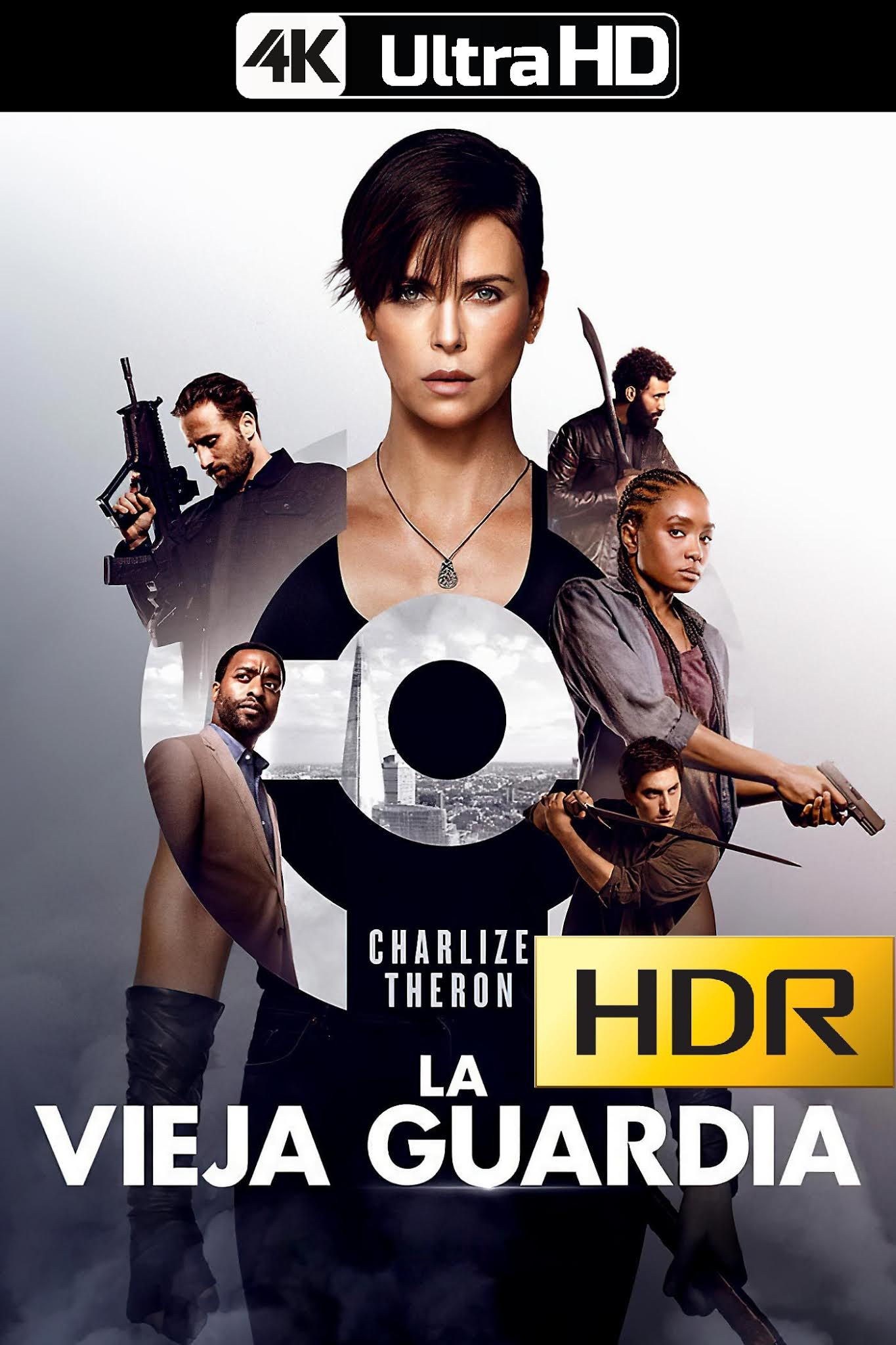 La Vieja Guardia (2020) 4K UHD HDR Web-DL Latino