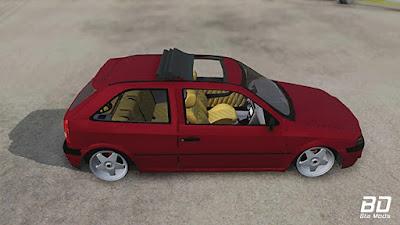 VW Gol g3 Euro Style para GTA San Andreas - Lateral