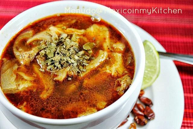 Mexican tripe menudo soup recipe