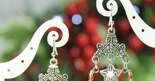 Use Memory Wire Scraps For Chandelier Earrings The
