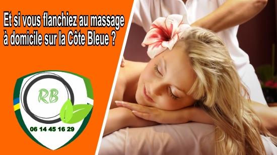 Et si vous flanchiez au massage à domicile sur la Côte Bleue;