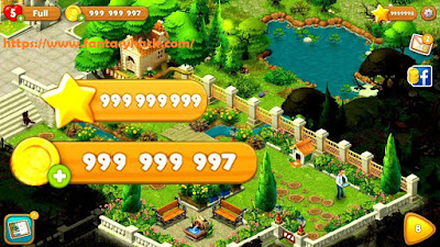 Download Free Gardenscapes Game Hack Unlimited Stars, Coins 100% working and Tested for IOS and Android