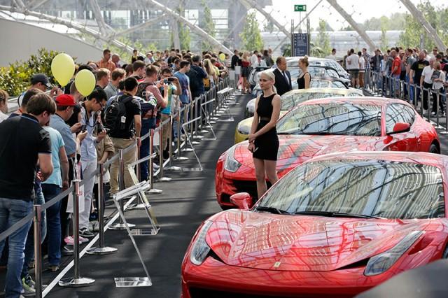 Leipzig Auto Show 2014 đã thu hút gần 250.000 lượt khách tham quan